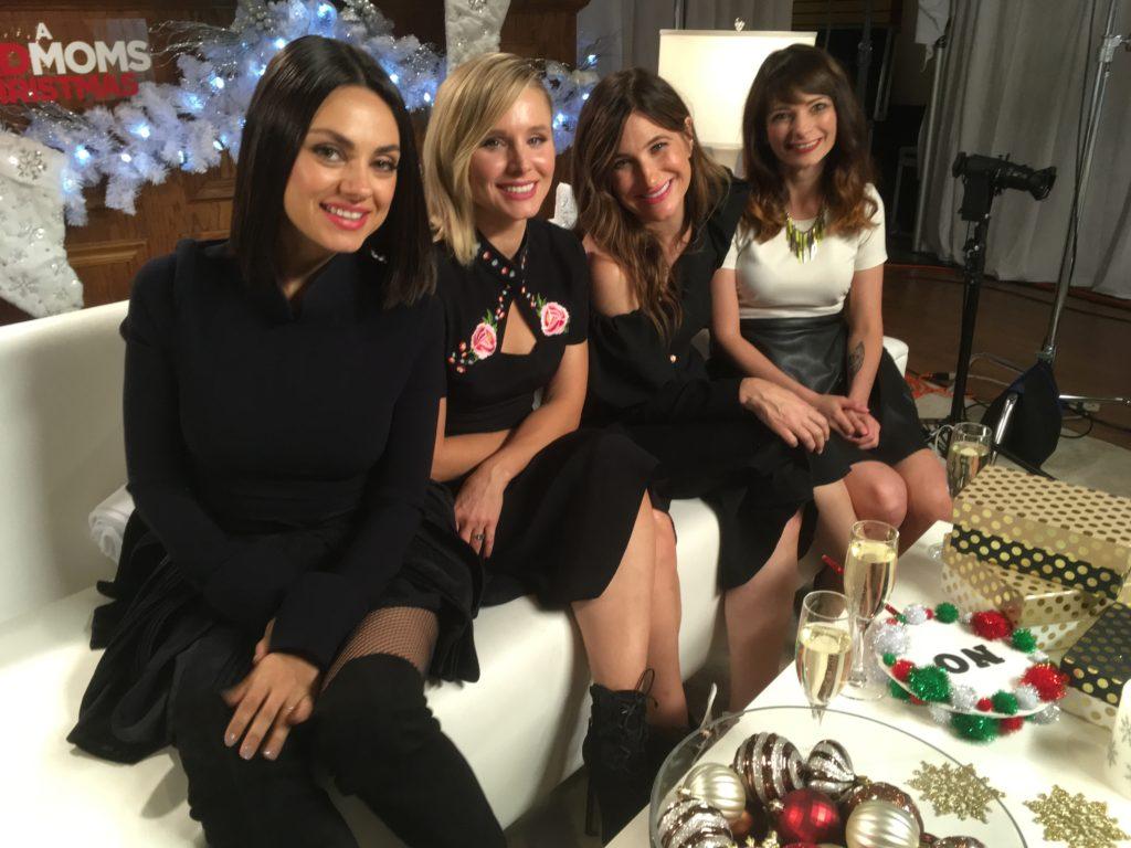Bad Mom Christmas.The A Bad Moms Christmas Cast Shares Embarrassing Mom Moments